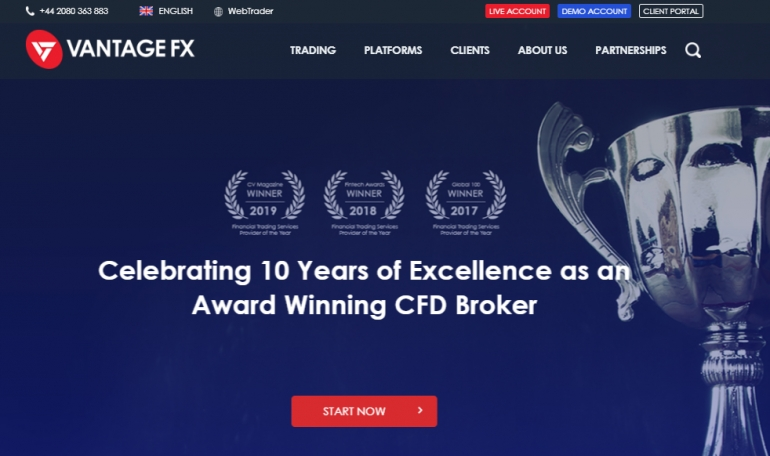 VantageFX - Top Regulated Broker Review